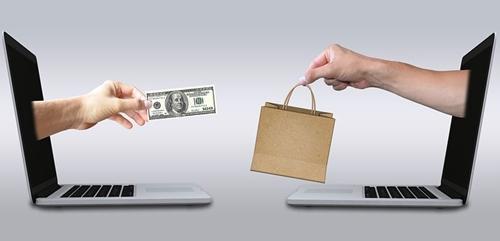 Online sales graphic