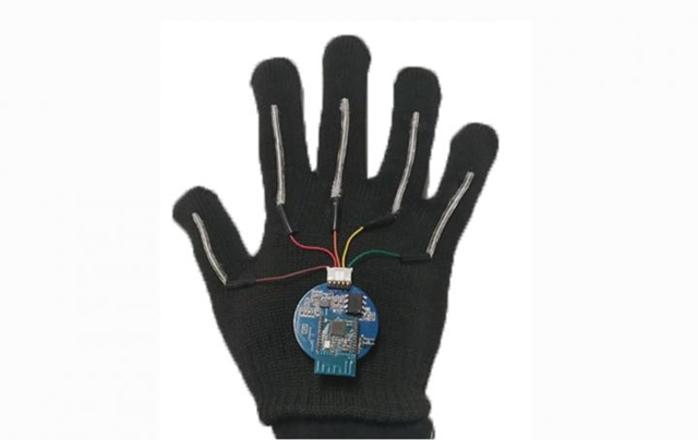 Sign language translation glove