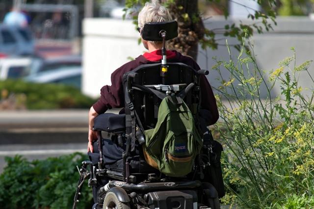 Motorized wheelchair