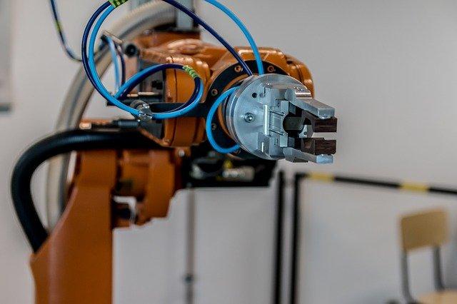 Robot arm and gripper