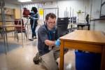 Preparing classrooms for students return