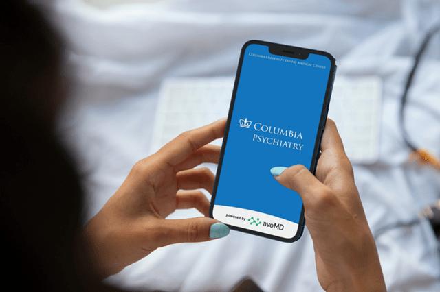 Columbia Psychiatry Pathways app