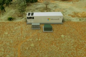 Microsoft made a portable data center in a box