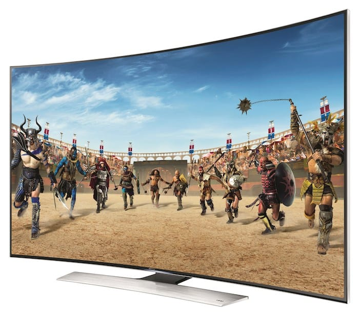 Samsung's new Ultra High Definition Television