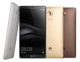 Huawei's Mate 8 pushes what's possible in a six-inch phone to its limits. Photo courtesy Huawei.