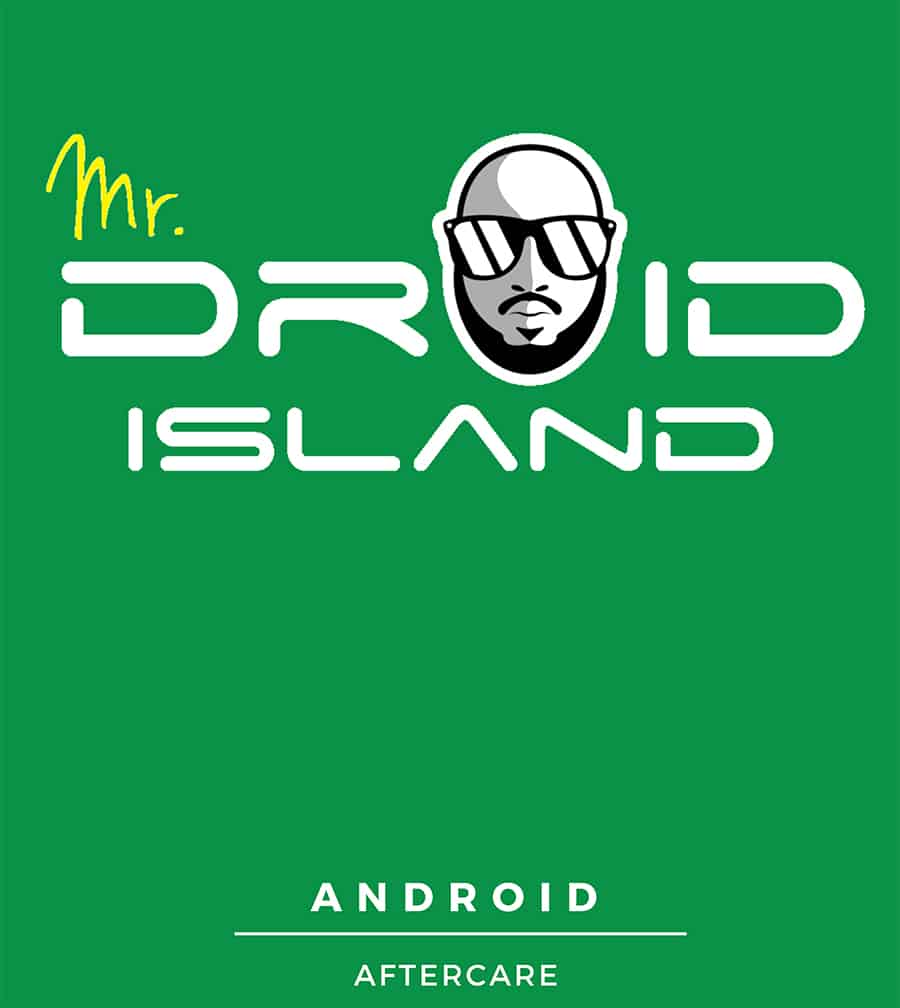 Mr Droid Island's new book