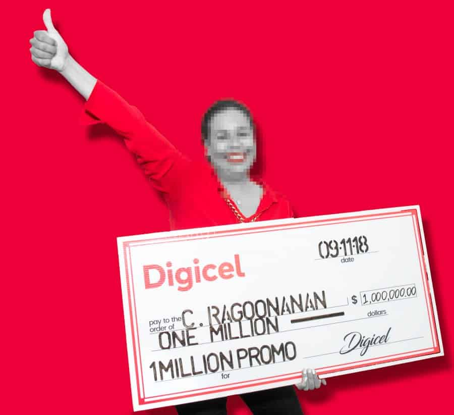 Digicel announces million dollar grand prize winner