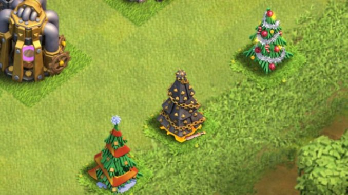 All Coc Christmas Trees.How The Clash Of Clans Christmas Tree Will Look This Year