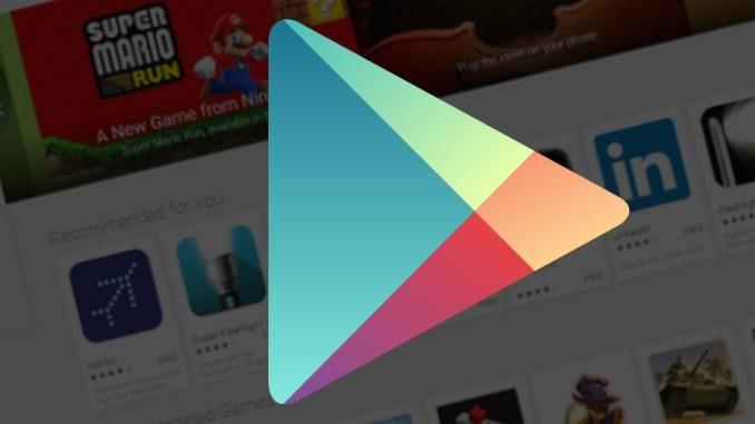 Play Store Update