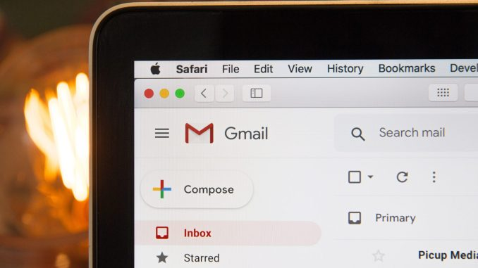 Storage In Gmail