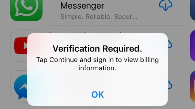 Verification Required