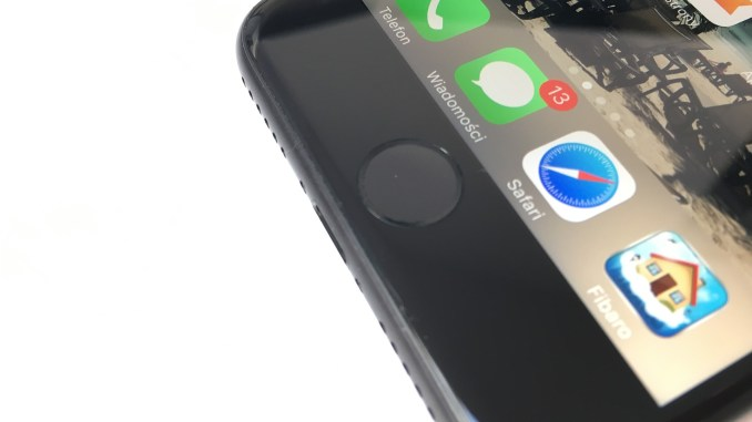 broken iPhone Home button