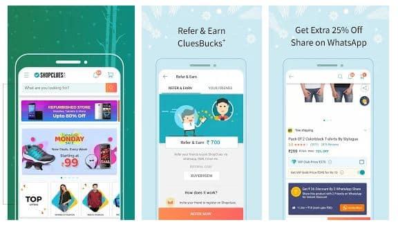 Shopclues online shopping app - technewztop.com