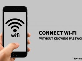 Connect Wifi Without Knowing the Password.