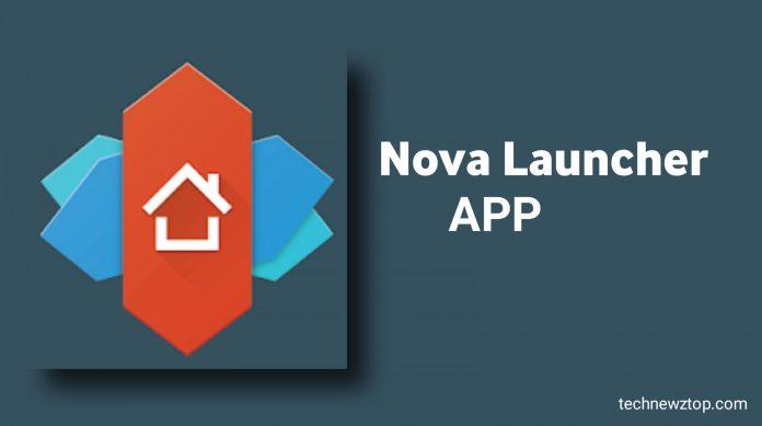 Nova Launcher app.