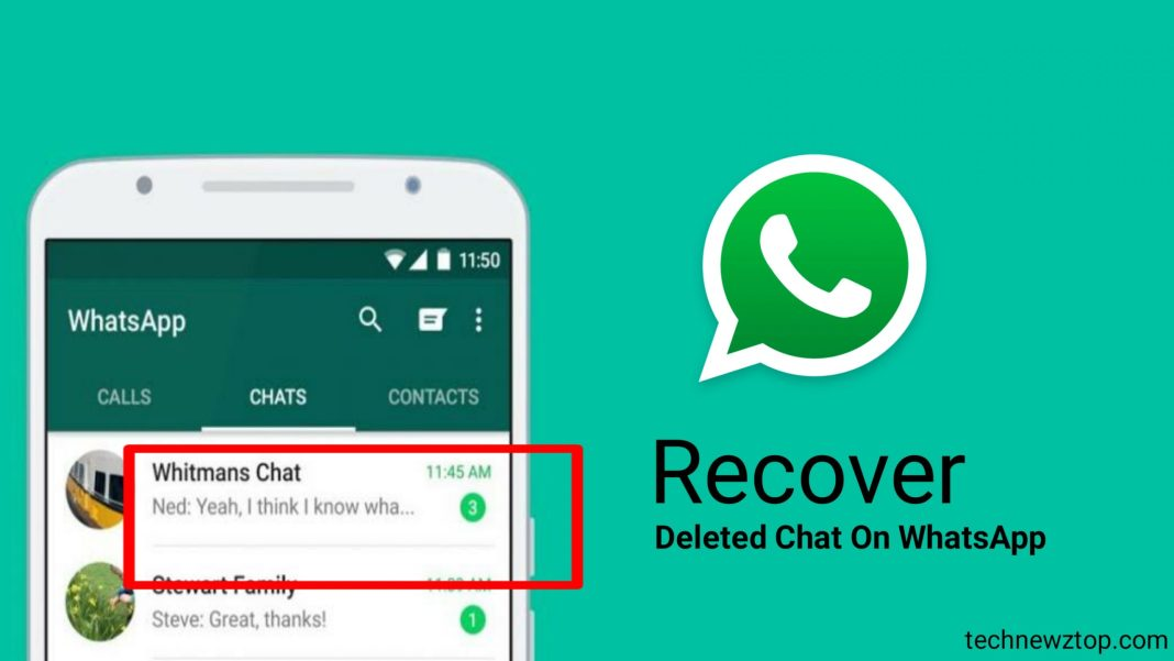Recover Delete Chat On WhatsApp