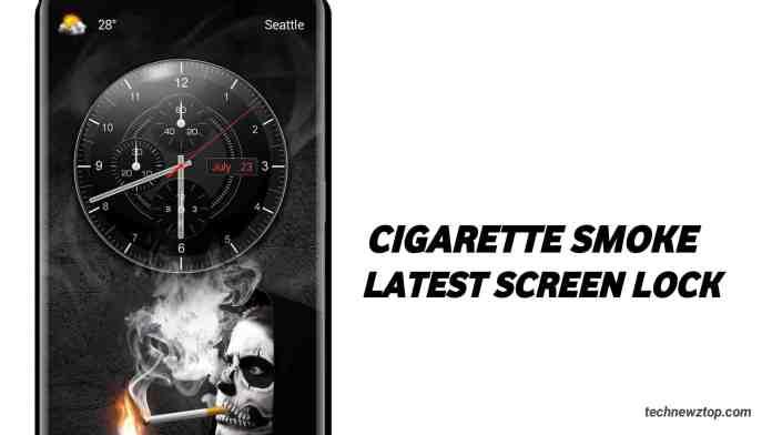 Android App Lock Screen