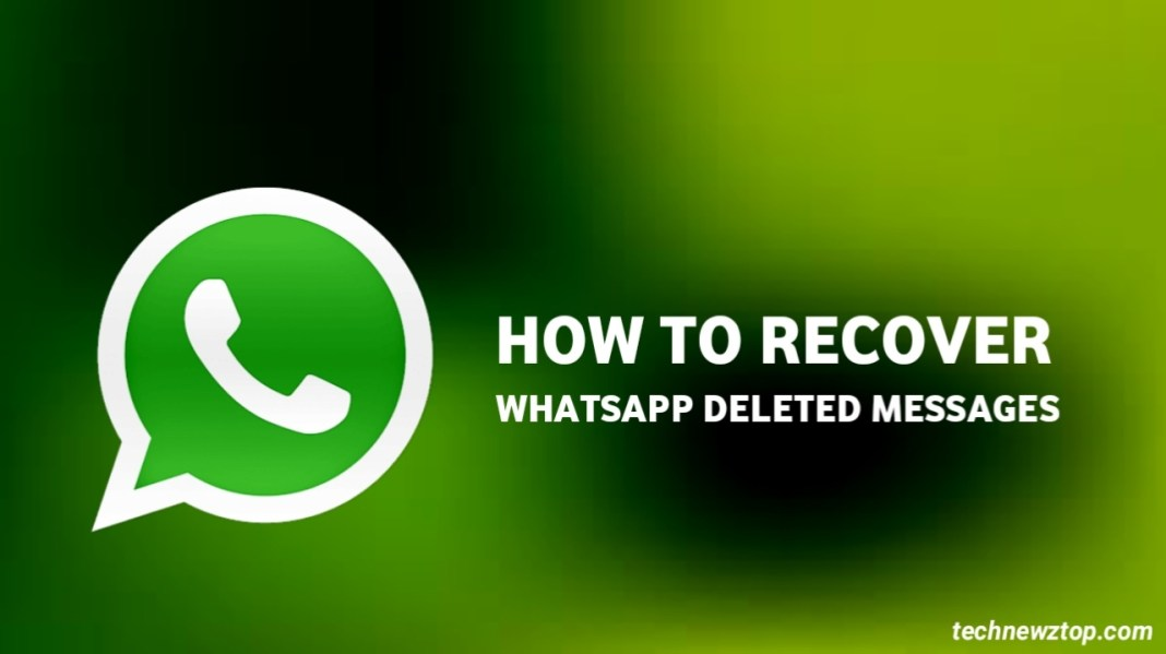 How to Recover WhatsApp Delete Message