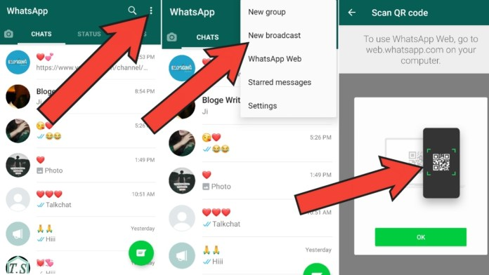 New whatsapp web features