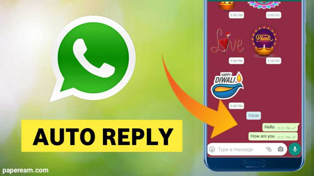 How to auto-reply on Whatsapp