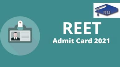 REET Admit Card 2021: Check Exam Date and How to Download