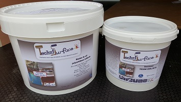 TECHNI SURFACE_Fabricant de peintures_TECHNI OSOL BI-PU_Kit de 10Kg