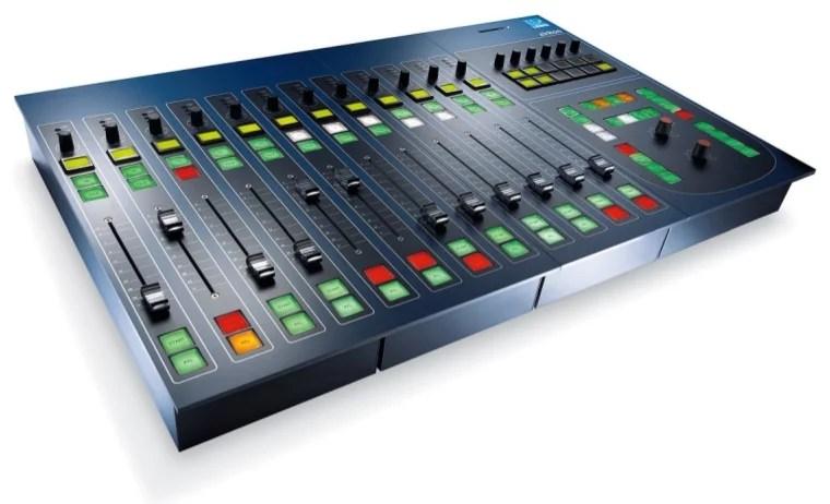 Console numerique broadcast Lawo Zirkon