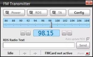 FM Transmitter Sam Broadcaster
