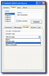 Shoutcast - Encoder