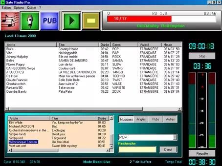 Gate Radio Pro logiciel automation radio