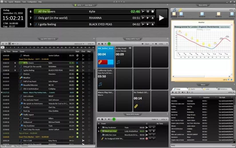 RCS Zetta logiciel d'automation radio