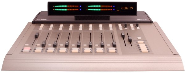 PR & E Oasis console broadcast radio
