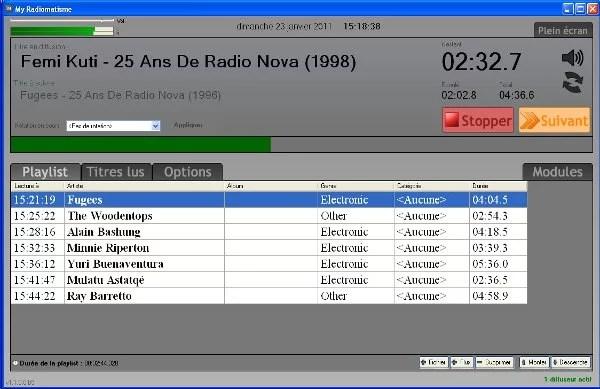 My Radiomastisme Finale Beta 5 radio broadcast