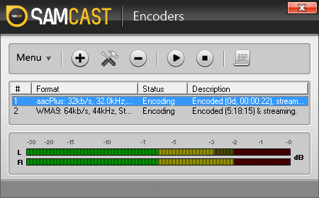 SAM Cast Encoder