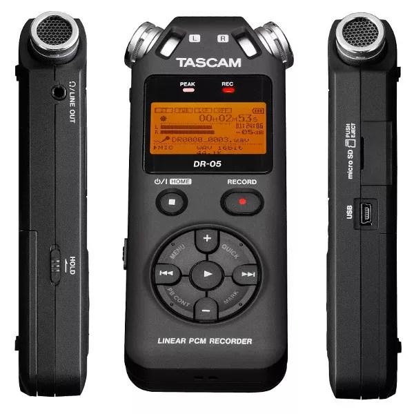 Tascam DR-05 enregistreur recorder radio broadcast