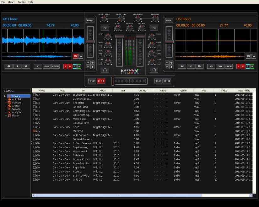 Mixxx 1.9 logiciel DJ avec encodeur