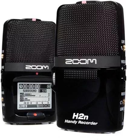 Zoom H2n enregistreur numerique