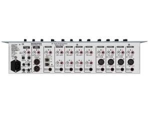 sonifex s0 mixer console broadcast radio rear