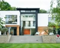 Dormers-Henley - double height minimal guillotine window system