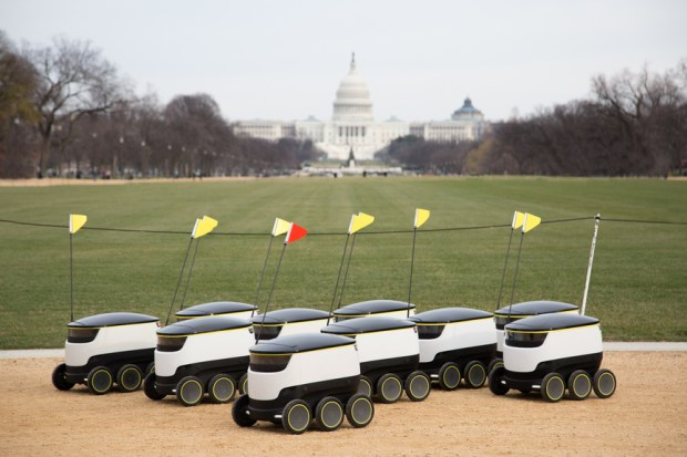 The food bots are coming to D.C.