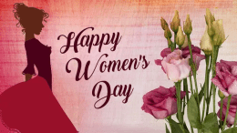 women's day message to colleagues;
