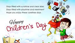 Happy Children day wishes