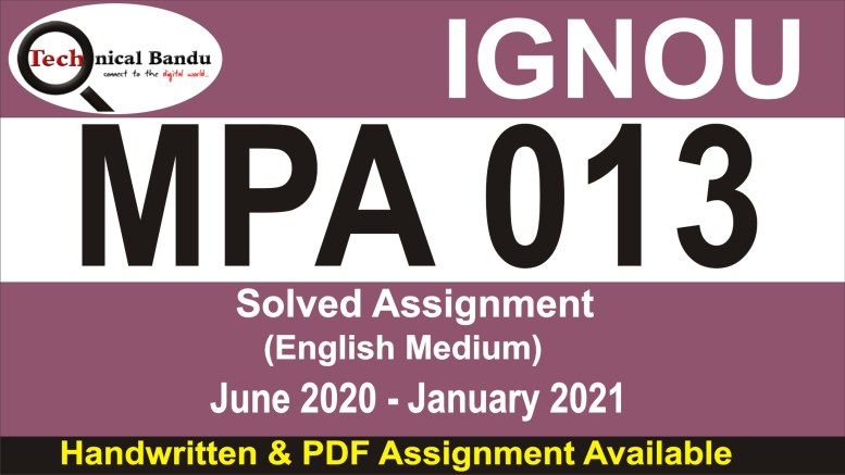 mpa-015 solved assignment; ignou guru solved assignment 2020; ignou mpa solved assignment 2019 free download; ignou assignment submission process 2020; ignou mpa study material in hindi; sample of ignou assignment; ignou assignment online submission 2020; ignou assignment submission link