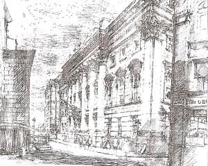 Goldsmiths Hall 1835