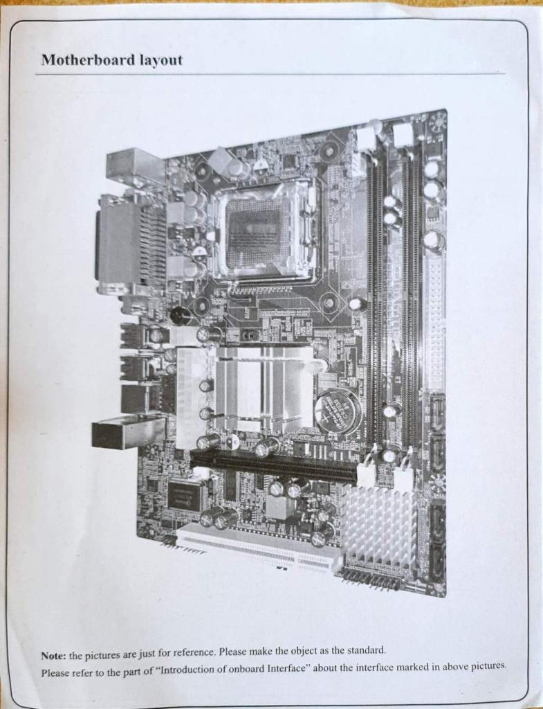 consistent g31 motherboard manual page 2