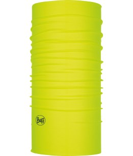 "Studio photo of the Original Buff® Design ""Yellow Fluor"". Source: buff.eu"