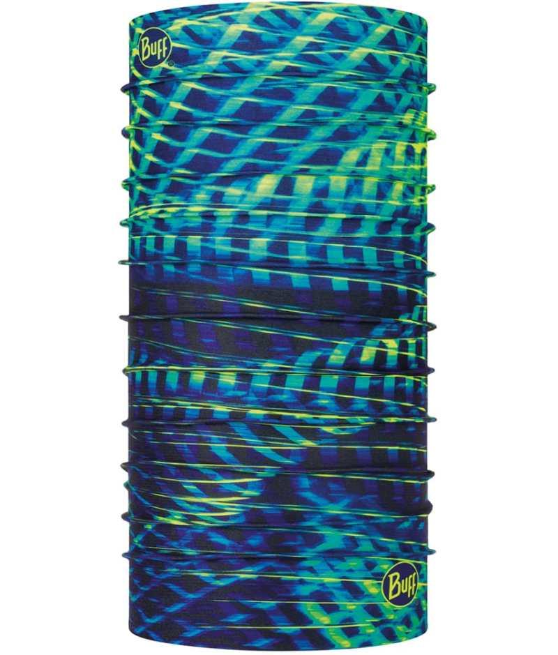 "Studio photo of the BUFF® Coolnet UV+ Design ""Sural Multi"". Source: buff.eu"