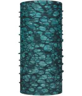 "Studio photo of the BUFF® Original Ecostretch™ Design ""Halcyon Turquoise"". Source: buff.eu"