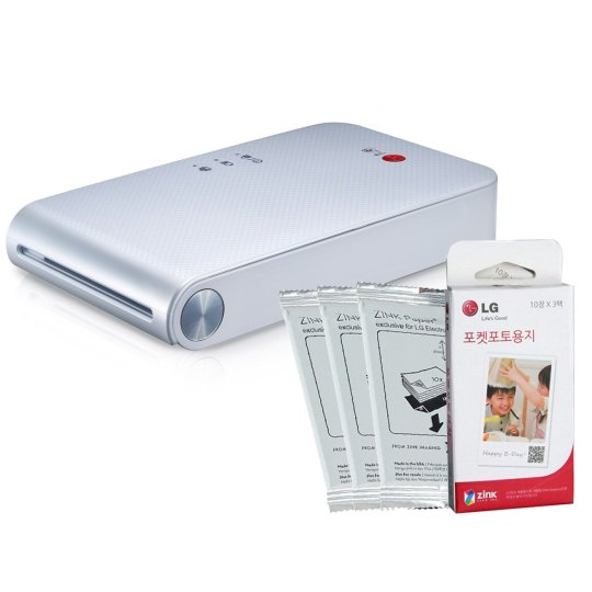 A Portable Smartphone Printer - LG PD239
