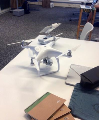 Drones for coastal monitoring